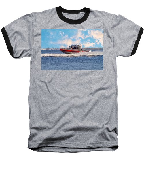 Protecting Our Waters - Coast Guard Baseball T-Shirt