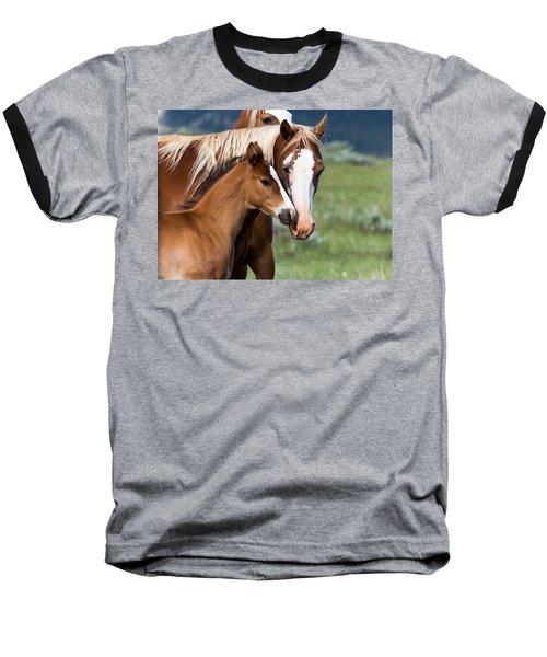 Proud Mommy Baseball T-Shirt