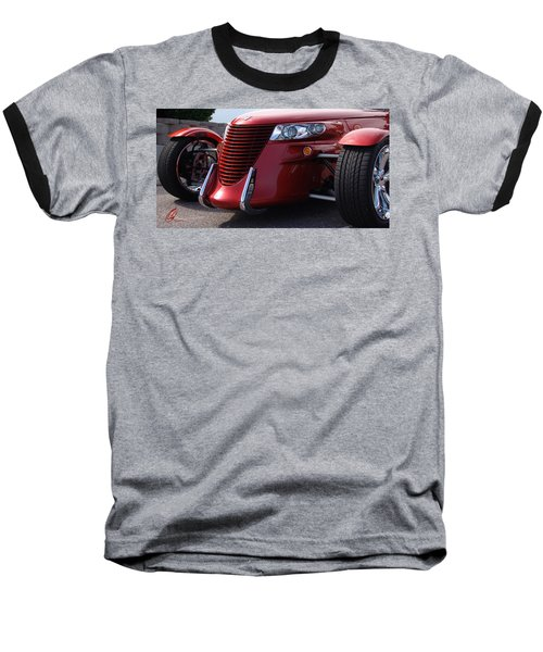 Baseball T-Shirt featuring the photograph Prowler  by Chris Thomas