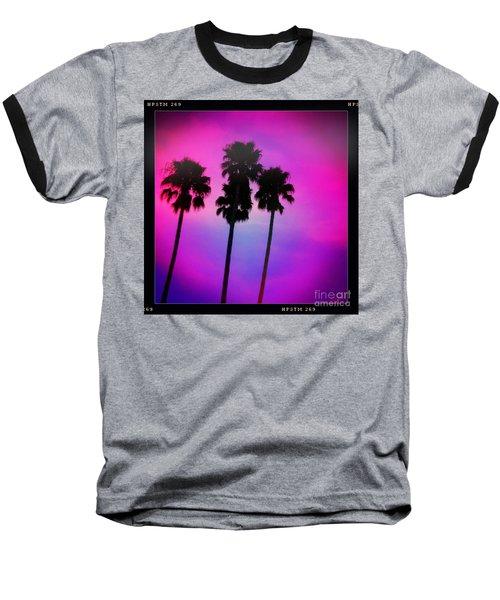 Psychedelic Palms Baseball T-Shirt