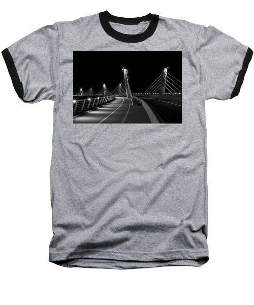 Ptuj Bridge Bw Baseball T-Shirt