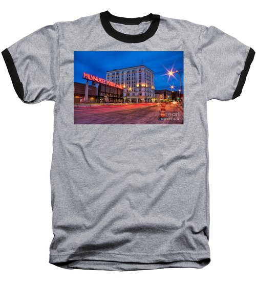 Public Market Zip Baseball T-Shirt