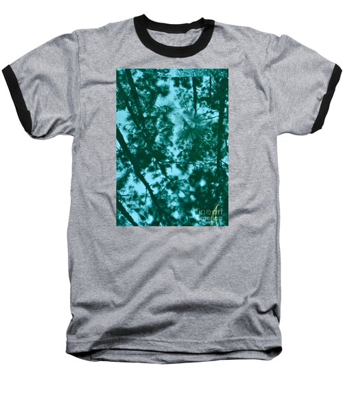Baseball T-Shirt featuring the photograph Puddle Of Pines by Joy Hardee