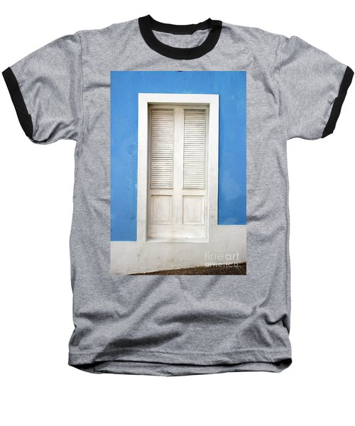 Puerta En El Viejo San Juan Baseball T-Shirt