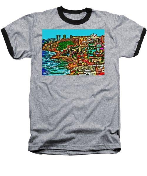 Puerto Rico Old San Juan  Baseball T-Shirt