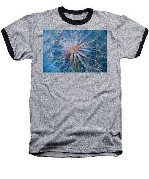 Puff-ball In Blue Baseball T-Shirt