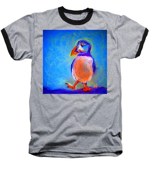 Funky Puffin Dancing Baseball T-Shirt