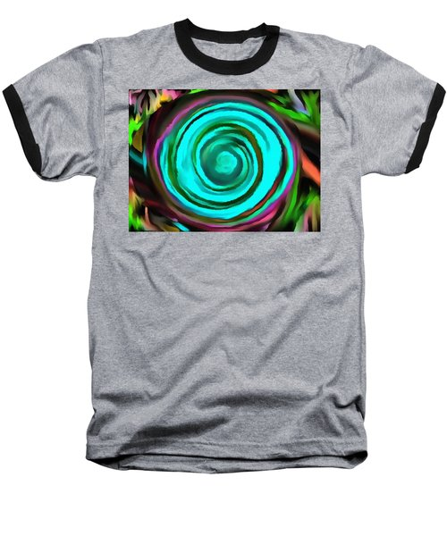 Baseball T-Shirt featuring the digital art Pulled by Catherine Lott