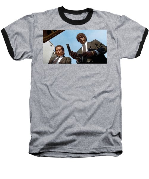 Pulp Fiction Artwork 1 Baseball T-Shirt