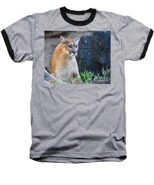 Puma On The Watch Baseball T-Shirt by John Telfer