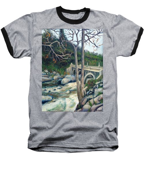 Pumpkin Hollow Bridge Baseball T-Shirt