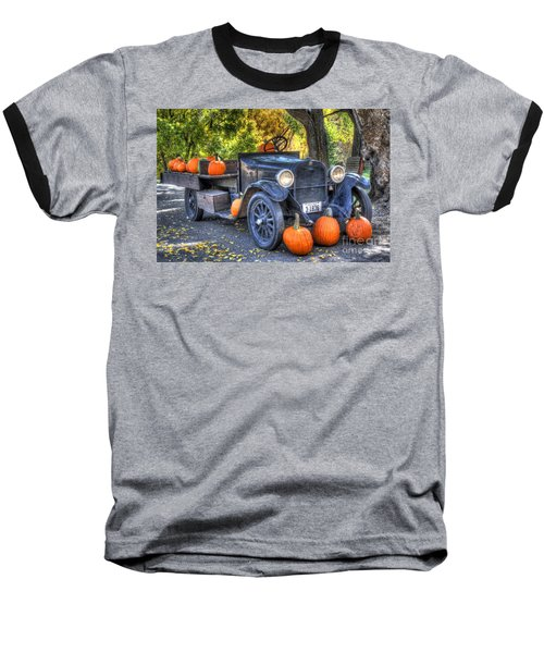 Pumpkin Hoopie Baseball T-Shirt