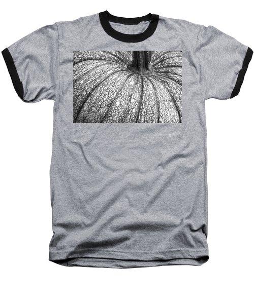Pumpkin Pumpkin Black And White Baseball T-Shirt
