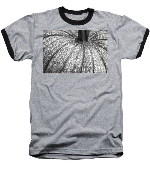 Pumpkin Pumpkin Black And White Baseball T-Shirt