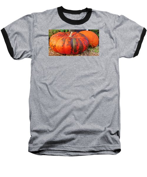 Baseball T-Shirt featuring the photograph Pumpkins by Cynthia Guinn