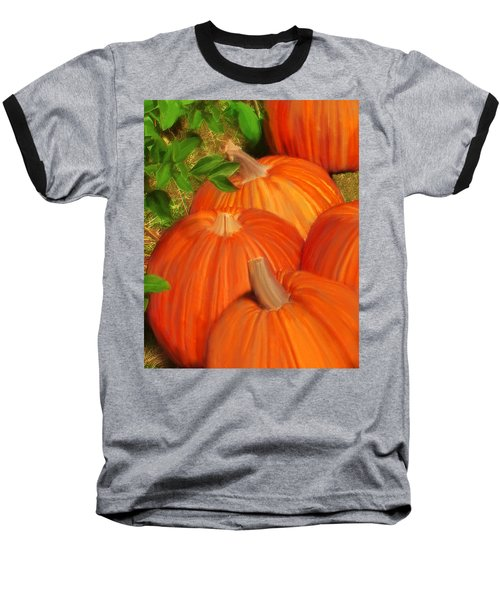 Pumpkins Pumpkins Everywhere Baseball T-Shirt
