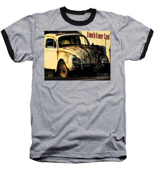 Punch Buggy Rust Baseball T-Shirt