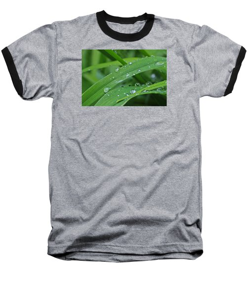 Pure Green Baseball T-Shirt by Julie Andel