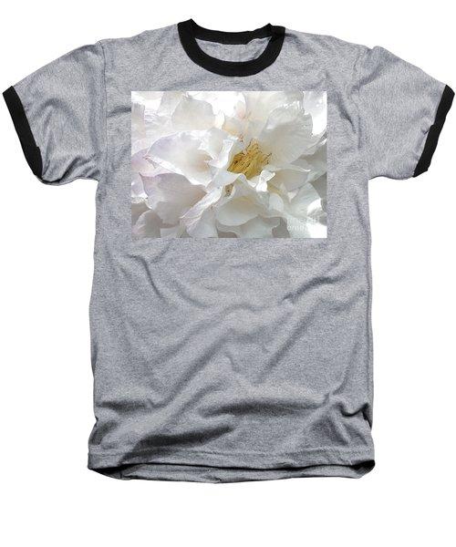 Pure White Baseball T-Shirt