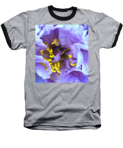 Purple Beauty Baseball T-Shirt