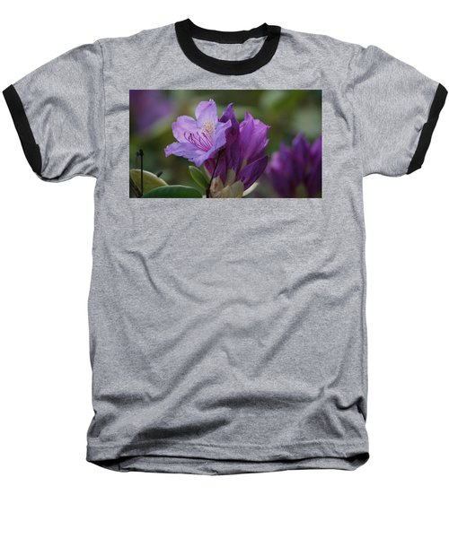 Purple Bloom Baseball T-Shirt
