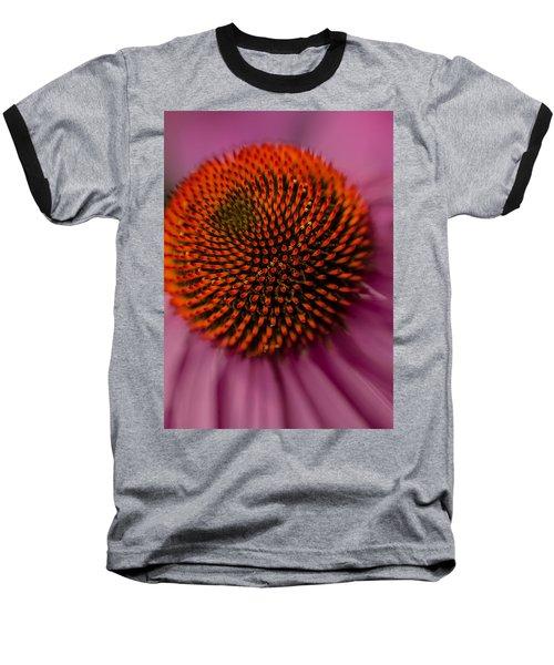 Purple Coneflower Baseball T-Shirt
