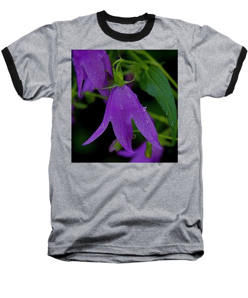 Purple Baseball T-Shirt by Daniel Sheldon