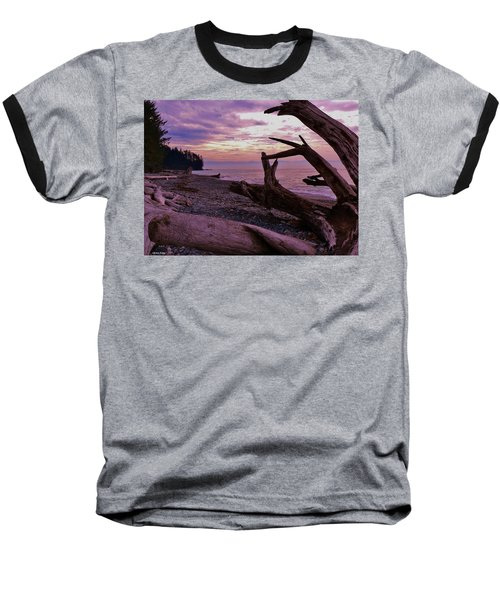 Baseball T-Shirt featuring the photograph Purple Dreams In Bc by Barbara St Jean