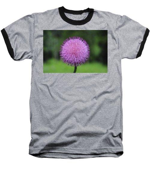 Purple Fuzz Baseball T-Shirt