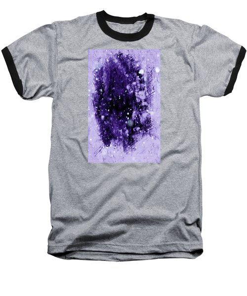 Purple Impression Baseball T-Shirt