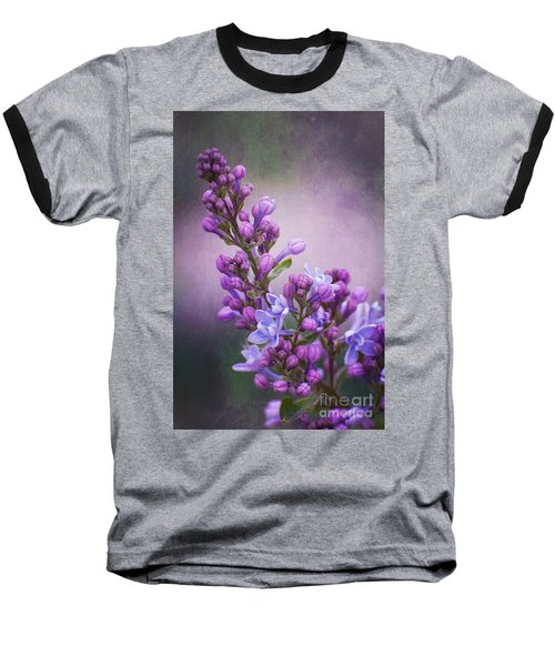 Purple Lilacs Baseball T-Shirt