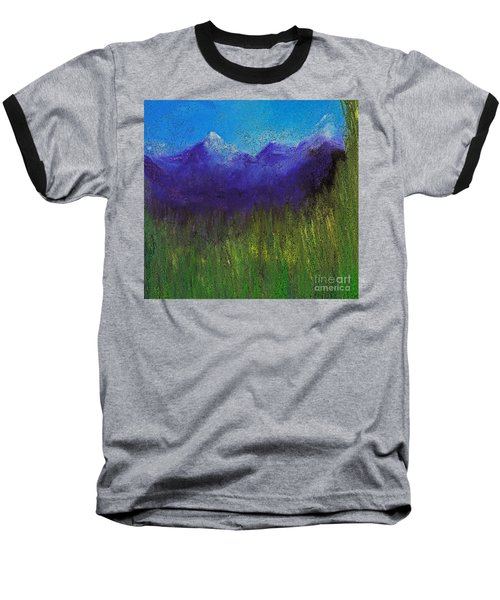 Purple Mountains By Jrr Baseball T-Shirt