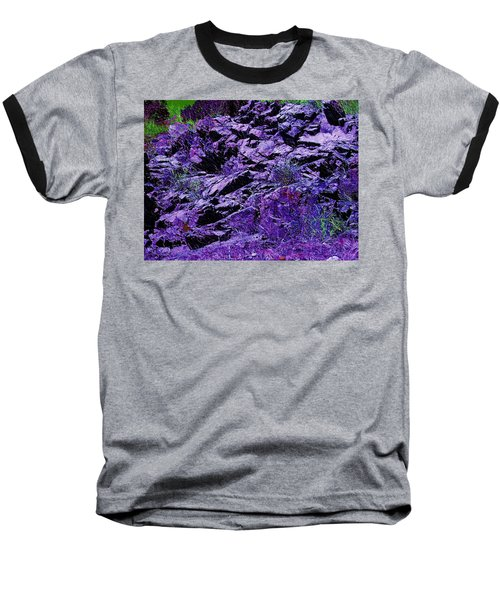 Purple Mountains Majesty Baseball T-Shirt