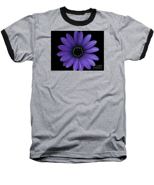 Baseball T-Shirt featuring the photograph Purple Peace by Janice Westerberg