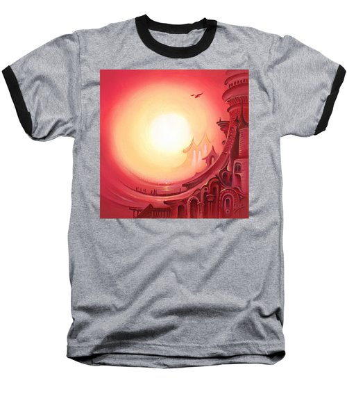 Purple Prayer Baseball T-Shirt