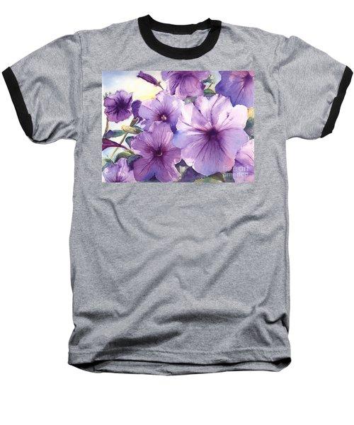 Purple Profusion Baseball T-Shirt