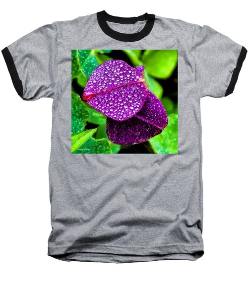 Purple Shimmer Baseball T-Shirt