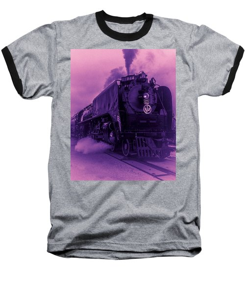 Purple Smoke Baseball T-Shirt
