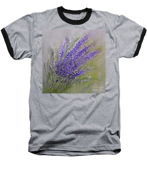 Purple Summer Baseball T-Shirt