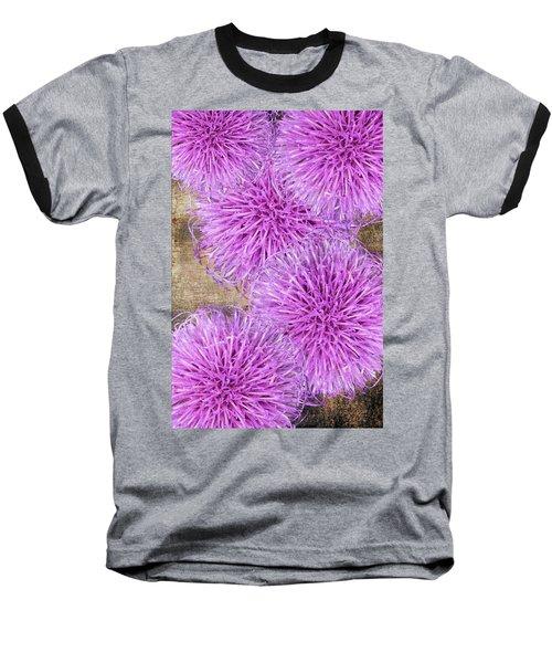 Purple Thistle - 2 Baseball T-Shirt