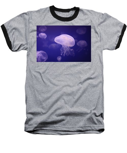 Purple Waters Baseball T-Shirt