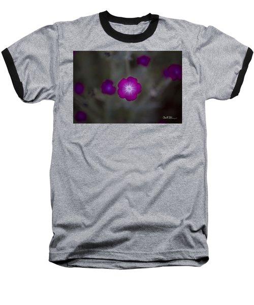 Purplish  Baseball T-Shirt
