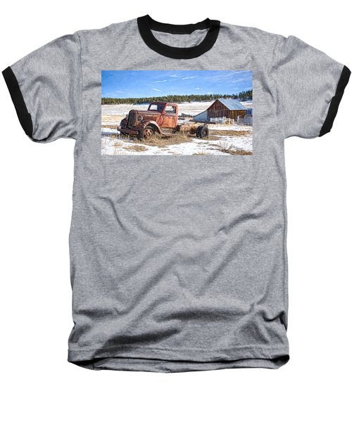 Put Out To Pasture Baseball T-Shirt