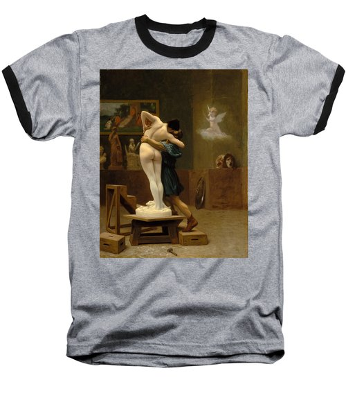 Pygmalion And Galatea Baseball T-Shirt by Jean-Leon Gerome