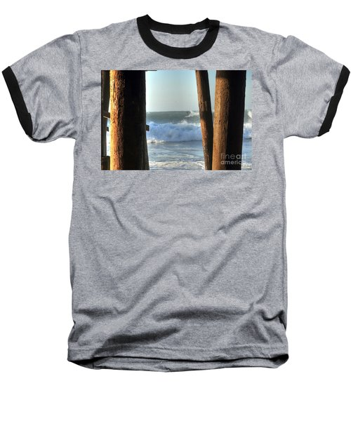 Pylon Surfer Baseball T-Shirt