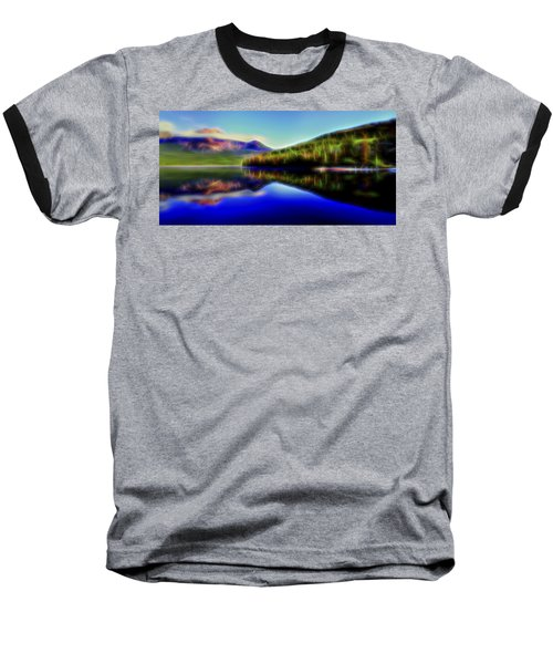 Baseball T-Shirt featuring the digital art Pyramid Mirror 1 by William Horden