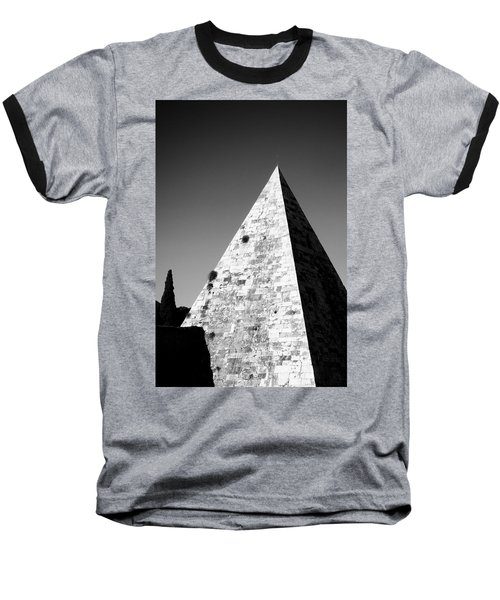 Pyramid Of Cestius Baseball T-Shirt