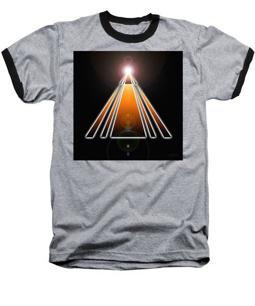 Pyramid Of Light Baseball T-Shirt