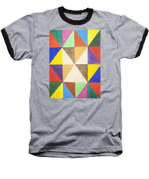 Pyramids 2 Baseball T-Shirt by Stormm Bradshaw