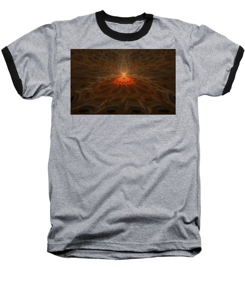 Pyre Baseball T-Shirt by GJ Blackman